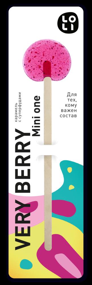 Фото №2 LO-LI Карамель very berry mini one 8 г