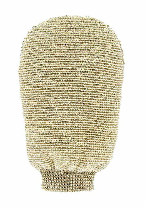 Фото №2 FORSTERS NATURAL Мочалка-варежка массажная двухсторонняя из органических льна и бамбука
