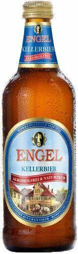 Фото №2 Пиво ENGEL Келлербир Хель светлое безалкогольное, Германия, 0,49% 0,5 л