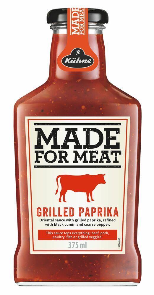 Фото №2 KUHNE Made for Meat Соус томатный С паприкой-гриль Grilled Paprika ст/бут 375 мл