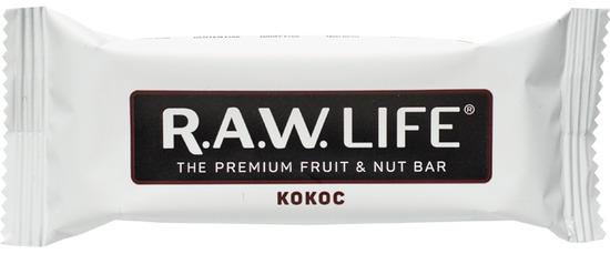 Фото №2 R.A.W. LIFE Батончик орехово-фруктовый Кокос 47 г