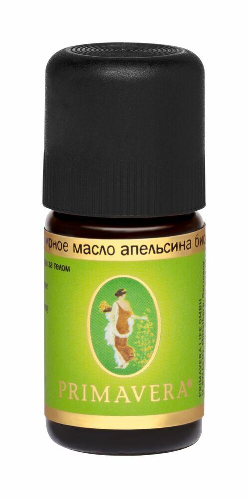 Фото №2 PRIMAVERA LIFE Эфирное масло апельсина БИО 5 мл