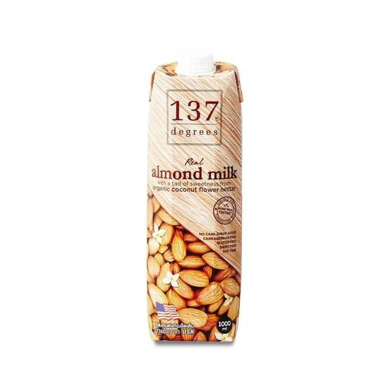 Фото №2 Молоко миндальное без сахара Веган 137 DEGREES 1000мл