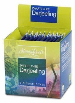 """Фото №2 SIMON LEVELT Чай Черный байховый """"Darjeeling"""" (10 пакетиков)"""
