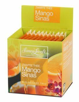 """Фото №2 SIMON LEVELT Чай Черный байховый ароматизированный """"Mango Orange"""" (10 пакетиков)"""