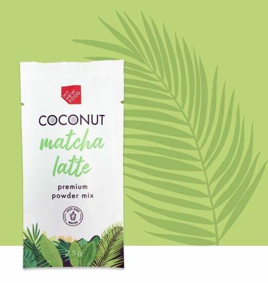 Фото №2 MYNEWFOOD Матча на кокосовом молоке, саше 25 г