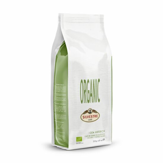 Фото №2 Caf? Silvestre Кофе натуральный жареный в зернах 100% арабика Органический,250 г