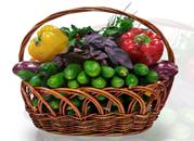 Фото №3 Подарочная корзина овощная маленькая