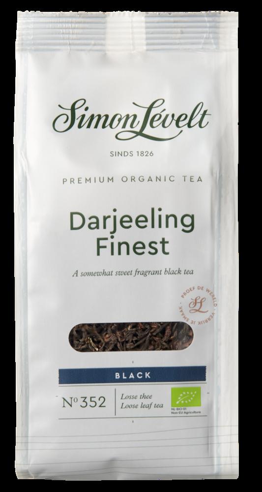 """Фото №2 SIMON LEVELT Чай чёрный """"Darjeeling Finest"""" ORGANIC Premium 90 г"""