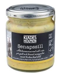 Фото №2 KLADESHOLMEN Сельдь в горчичном соусе маринованная 250 г