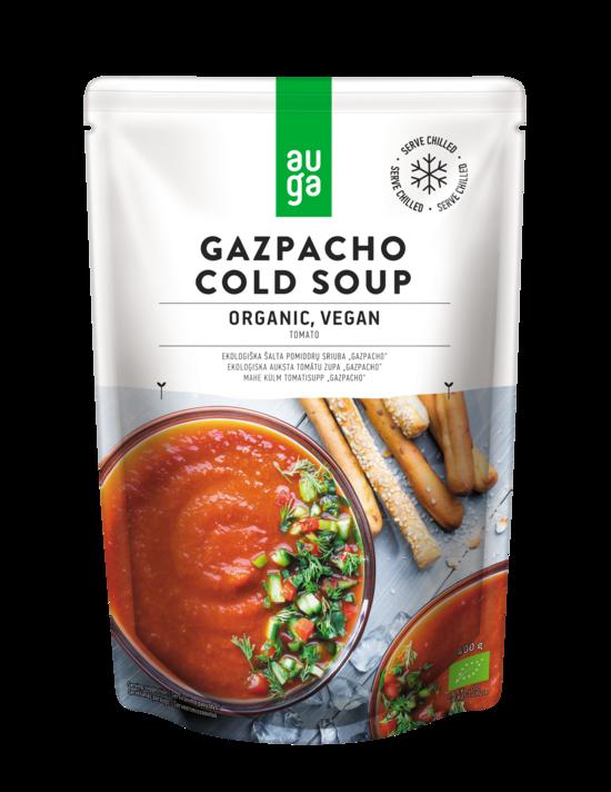 Фото №2 AUGA Суп холодный томатный Гаспачо пакет д/п ORGANIC 400 г