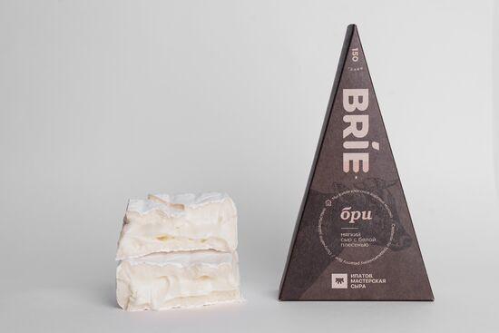 Фото №2 ИПАТОВ Сыр мягкий с белой плесенью Бри 150 г