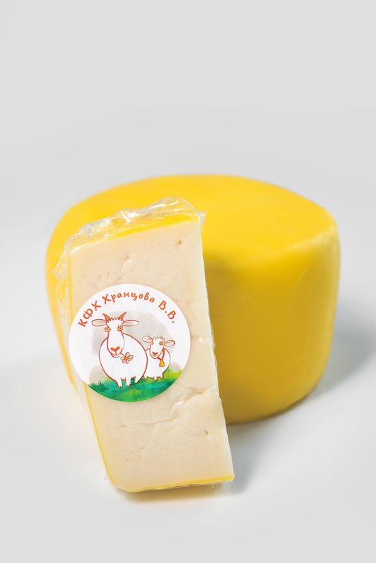 Фото №2 КФХ ХРАМЦОВА Сыр Квазар из козьего молока  мдж 45 %