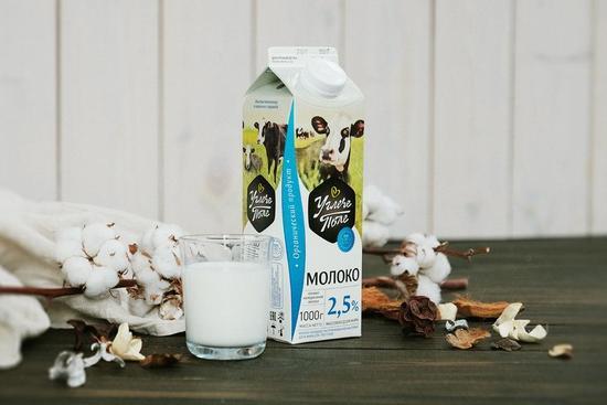 Фото №3 УГЛЕЧЕ ПОЛЕ Молоко пастеризованное 2,5%
