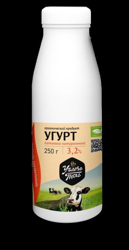 Фото №2 УГЛЕЧЕ ПОЛЕ Продукт кисломолочный Угурт питьевой фасовка 250 г