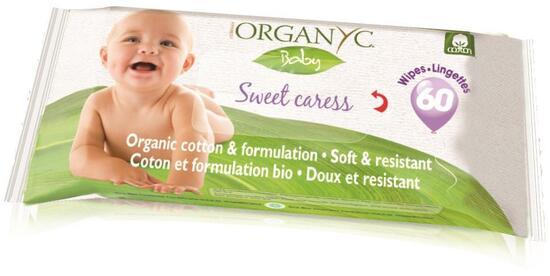Фото №2 ORGANYC Влажные салфетки детские 60 шт