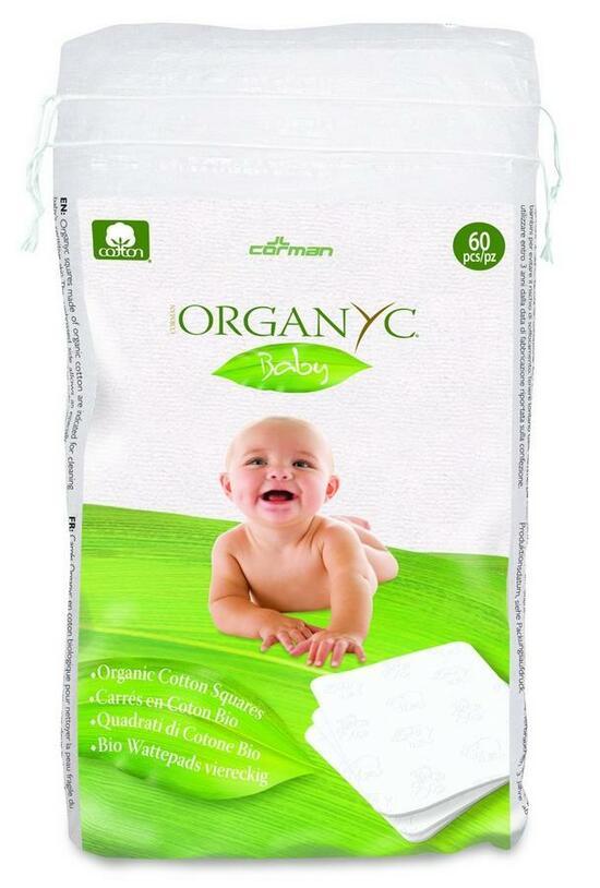 Фото №2 ORGANYC Ватные подушечки из органического хлопка Детские 60 шт
