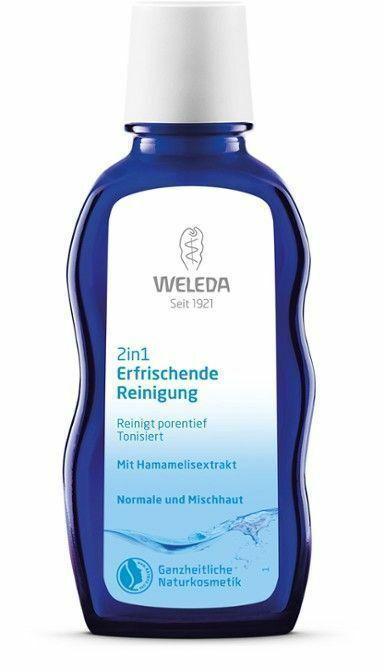 Фото №2 WELEDA Средство очищающее освежающее для нормальной и смешанной кожи '2 в 1' 100 мл
