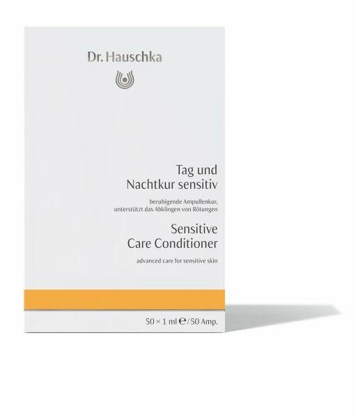 Фото №2 DR HAUSCHKA Восстанавливающий концентрат для чувствительной кожи Tag und Nachtkur sensitiv 50х1 мл