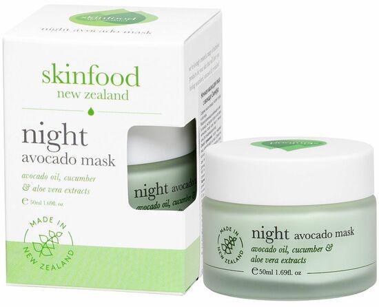 Фото №2 SKINFOOD Ночная маска для лица С авокадо