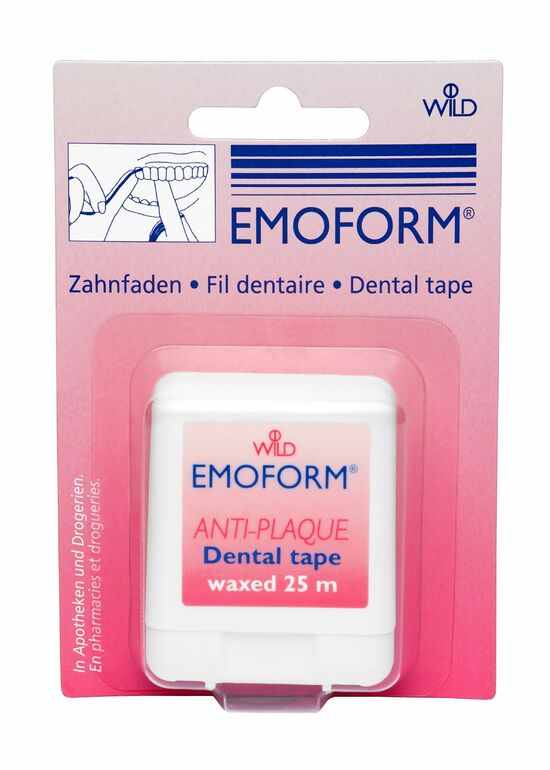 Фото №2 DR. WILD ЭМОФОРМ Зубная нить вощёная 25 м