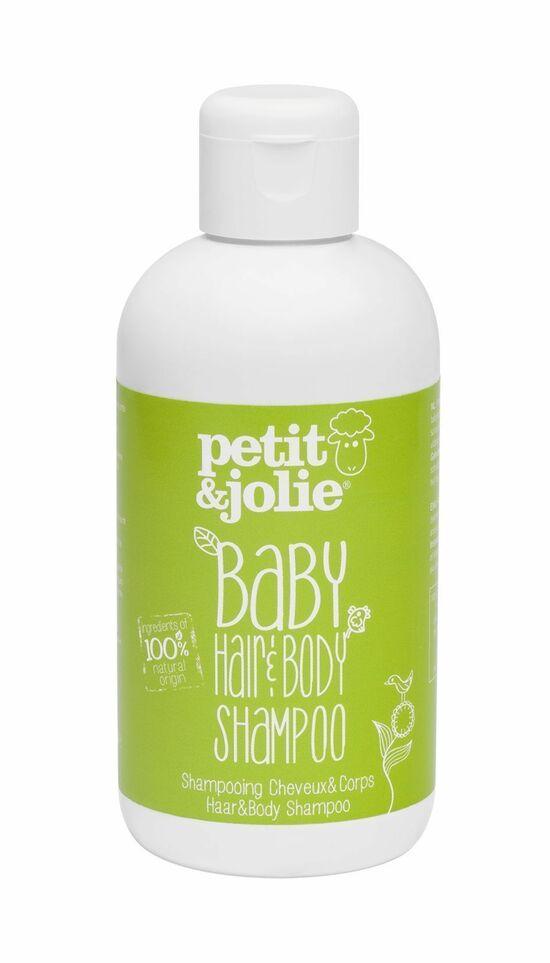 Фото №2 PETIT & JOLIE Шампунь-гель для душа для младенцев 200 мл