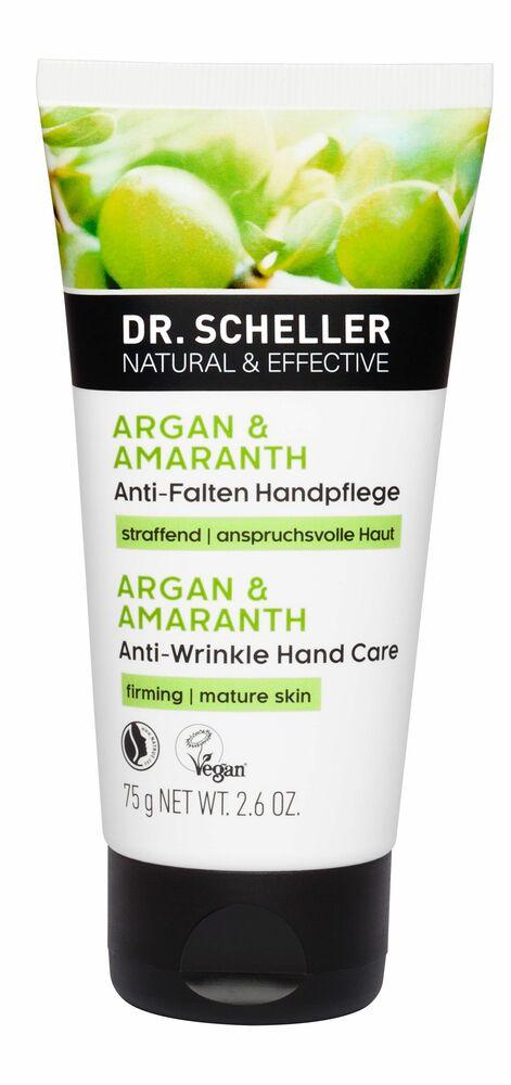 Фото №2 DR. SCHELLER Разглаживающий крем для рук Аргана и амарант 75 мл