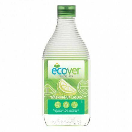 Фото №2 ECOVER Жидкость для мытья посуды С лимоном и алоэ вера Эко 450 мл