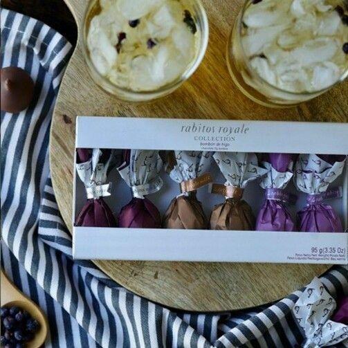Фото №2 RABITOS Конфеты Инжир в чёрном, молочном и белом шоколадах 'Коллекция 3 вкуса' (6 шт.) 95 г