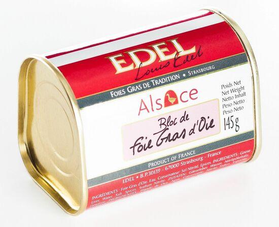 Фото №2 EDEL Печень гусиная, блок ручной работы (жесть) 145 г