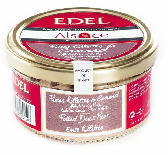 Фото №2 EDEL Рийет из мяса утки 100%, ручной работы (стекло) 140 г