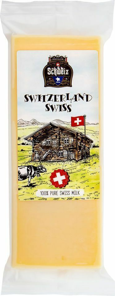 Фото №2 LAIME Сыр Швейцарский 45% (Швейцария) 180 г