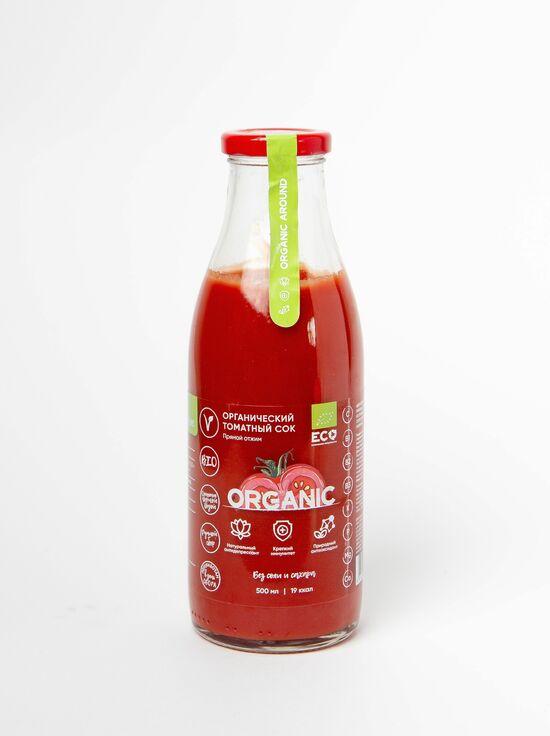Фото №2 ORGANIC  Томатный сок без соли и сахара, прямой отжим 500мл