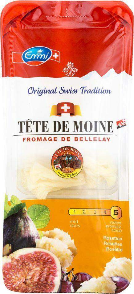 Фото №2 EMMI Сыр Тет де Муан (розочки) 51% (Швейцария) 100 г