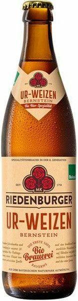 Фото №2 РИДЕНБУРГЕР УР-ВАЙЦЕН БЕРНШТАЙН Пиво светлое нефильтров., Германия, алк. 5,4% 0,5 л