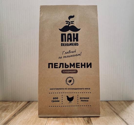 Фото №2 ПАН ПЕЛЬМЕНЬ Пельмени с курицей 800 гр.
