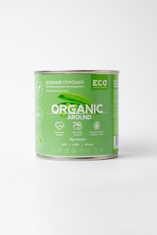 Фото №2 ОРГАНИЧЕСКИЙ Зеленый горошек без добавления сахара 425 г