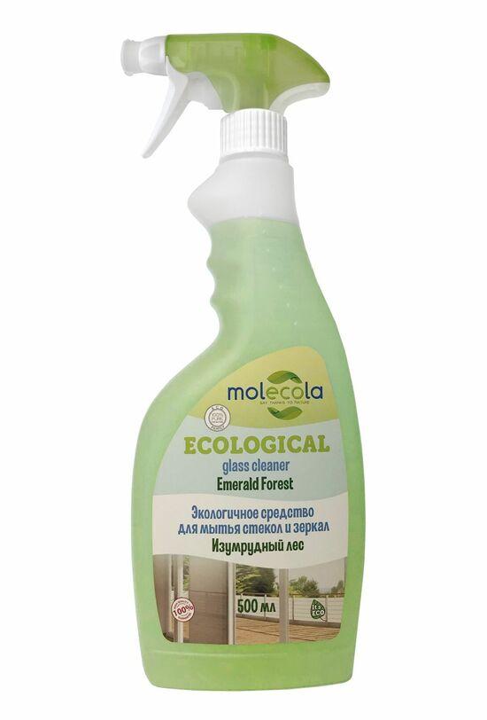 Фото №2 MOLECOLA Средство для мытья стёкол и зеркал экологичное 500 мл