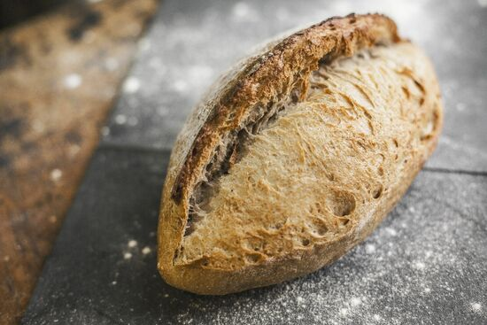 Фото №2 SASHA BREAD BAKERY Хлеб пшеничный цельнозерновой на закваске 430 г