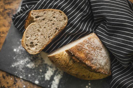 Фото №3 SASHA BREAD BAKERY Хлеб пшеничный цельнозерновой на закваске 430 г