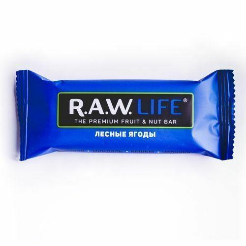 Фото №2 R.A.W. LIFE Батончик орехово-фруктовый Лесные ягоды 47 г