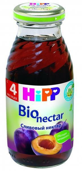 Фото №2 HIPP Нектар сливовый с 4 мес 200 г