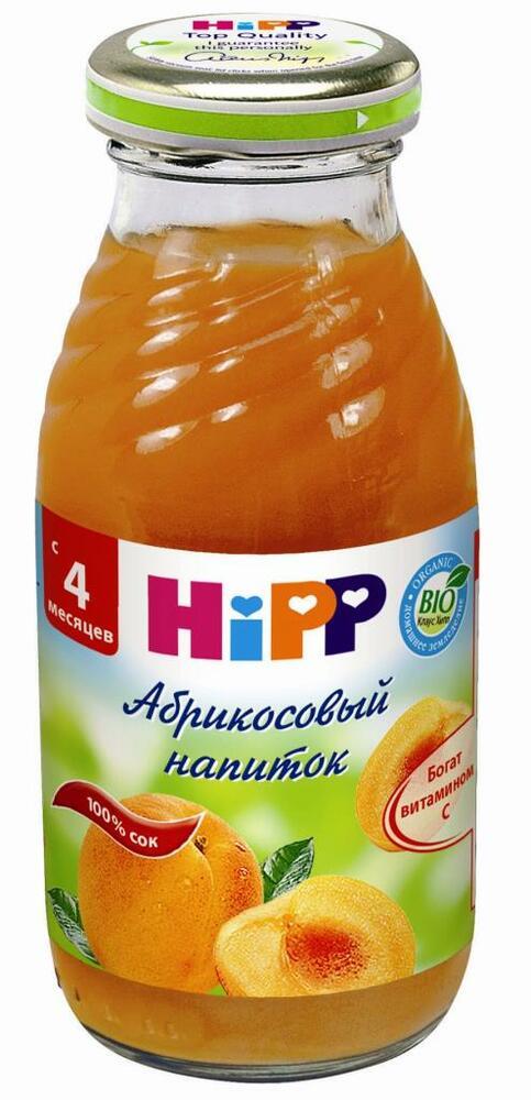 Фото №2 HIPP Напиток абрикосовый с 4 мес 200 г