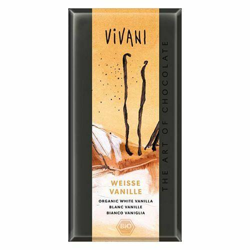 Фото №3 VIVANI Шоколад белый с ванилью 80 г