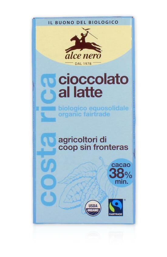 Фото №2 ALCE NERO Шоколад Молочный 100 г