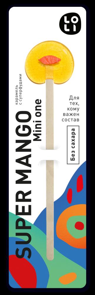 Фото №2 LO-LI Карамель super mango mini one Без Сахара 8 г