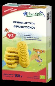 фото ФЛЁР АЛЬПИН Печенье детское Французское с 8 мес 150 г