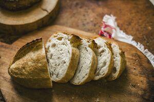 фото SASHA BREAD BAKERY Батон пшеничный 380 г