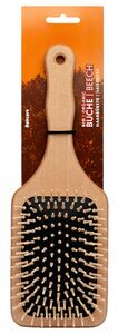 фото FORSTERS NATURAL Щётка для волос деревянная прямоугольная с деревянными зубчиками