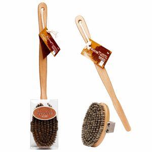 фото FORSTERS NATURAL Щётка массажная из древесины и натуральной щетины, со съёмной ручкой
